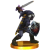 SSB3DS Link (Alt.) Trophy Model.png