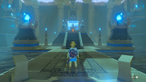BotW Blessing Shrine Interior 5.png