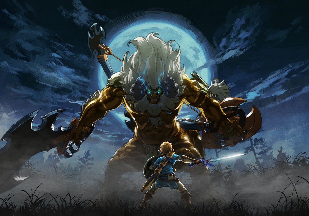 Golden Lynel - Zelda Wiki