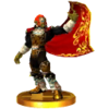 SSB3DS Ganondorf (Ocarina of Time) Trophy Model.png