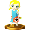 SSBfWU Aryll Trophy Model.png