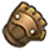 The sprite for the Power Glove in A Link Between Worlds