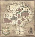 Map of Hyrule in Twilight Princess