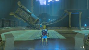 BotW Bareeda Naag Shrine Interior.png