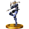 SSBfWU Sheik Trophy Model.png