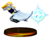 SSBM Zelda (Smash) Trophy Blue Model.png