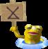 A Golden Frog from Phantom Hourglass