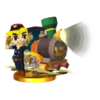 SSB3DS Engineer Link Trophy Model.png