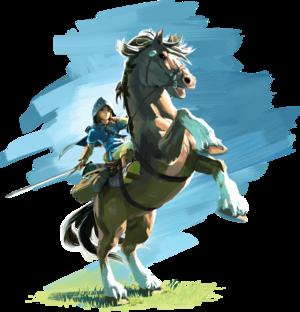 BotW Link Rider Artwork.png