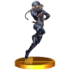 SSB3DS Sheik (Alt.) Trophy Model.png