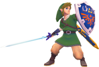 SS Link Hylian Shield Render.png