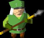 Castle Guard in Spirit Tracks