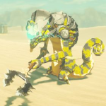 BotW Hyrule Compendium Electric Lizalfos.png