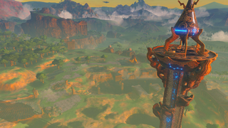BotW Great Plateau Tower.png
