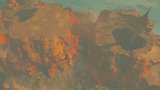 BotW Spectacle Rock.png