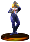 SSBM Sheik (Smash) Trophy Model.png