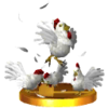 SSB3DS Cucco Trophy Model 2.png