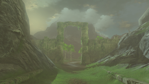 BotW Lanayru Road - East Gate.png