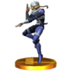 SSB3DS Sheik Trophy Model.png