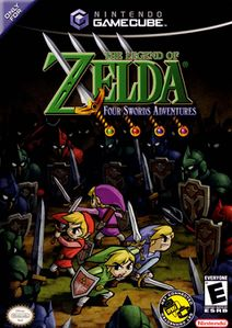 Four Swords Adventures US Boxart