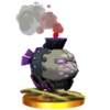 SSB3DS Armored Train Trophy Model.png