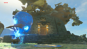BotW Akkala Ancient Tech Lab Exterior.png