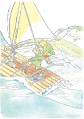 TLoZ Link Using the Raft Artwork.png