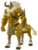 BotW Golden Lynel Model.png