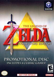 Zelda Collectors Edition Boxart