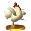 SSB3DS Cucco Trophy Model.png