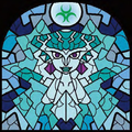 TWW Princess Ruto Stained Glass Artwork.png
