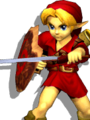 SSBM Young Link Alternative Costume 1.png