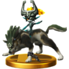 SSBfWU Wolf Link Trophy Model.png