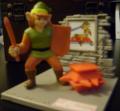 TLoZ Link next to a Trap Figure.png