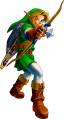 OoT Link Using Fairy Bow Artwork.png
