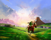 OoT3D Hyrule Field Artwork.png