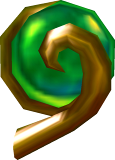 OoT3D Spiritual Stone of the Forest Model.png