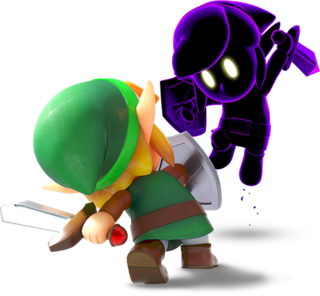 LANS Link Fighting Shadow Link Render.png