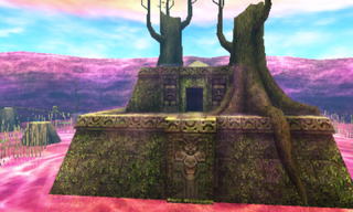 MM3D Woodfall Temple Entrance Screenshot.png
