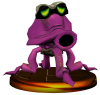 SSBM Octorok Trophy Model.png