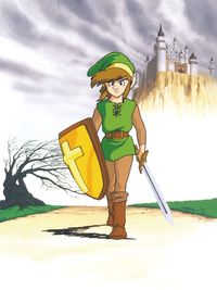 File:TAoL Link in Hyrule Artwork.png