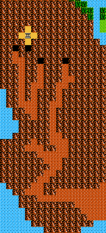 The Valley of Death as it appears in The Adventure of Link