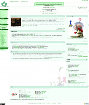 The current layout of Pikipedia.