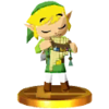 SSB3DS Link (Spirit Tracks) Trophy Model.png