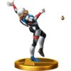 SSBfWU Sheik (Alt.) Trophy Model.png