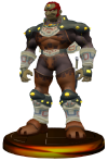 SSBM Ganondorf Trophy Model.png