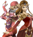 SSBB Zelda Sheik Alternative Costume 1.png