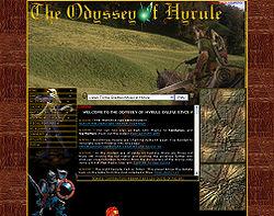 Screenshot of Odyssey of Hyrule