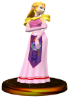 SSBM Zelda (Smash) Trophy Model.png