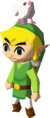 A dove on Link's head